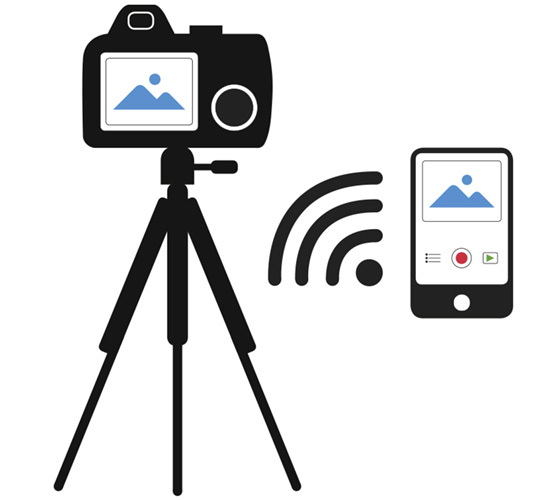 With remote capture, you can place the camera practically anywhere as long as it remains in range.