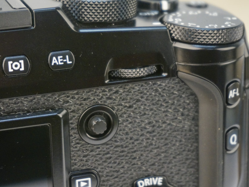 The Focus Lever makes choosing AF points quick and easy.