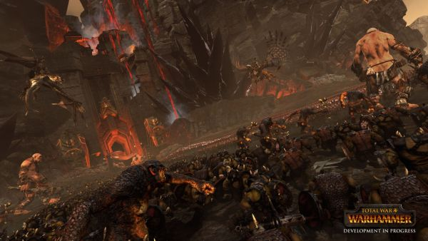 AMD will be a GPU exclusive partner for Sega's Warhammer Total IP, and will be pushing the game into the market as a DirectX 12 title. <br> Image source: Gaming Powerup.