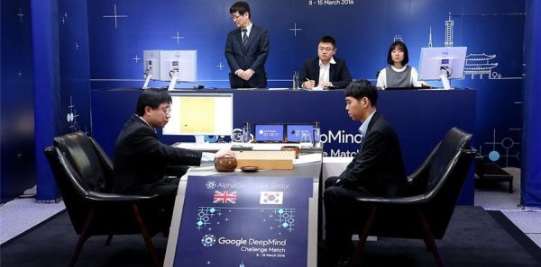 Google DeepMind's AlphaGo has managed to win 2-0 again Lee Sedol, Go Champion.