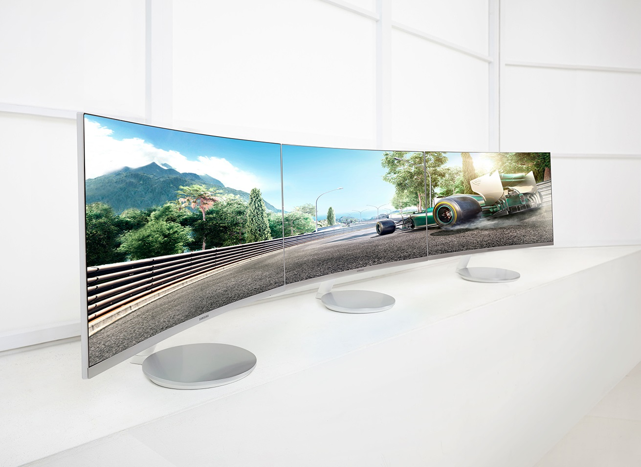 Samsung Has Just Announced Three New Curved Monitors With