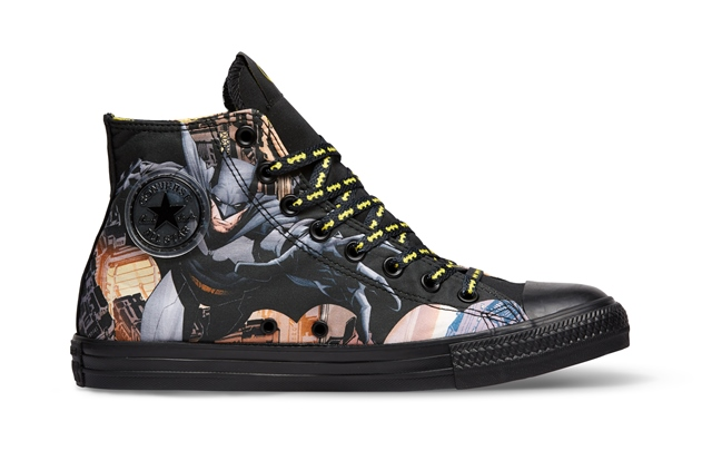 converse unveils limited edition batman and superman. Black Bedroom Furniture Sets. Home Design Ideas