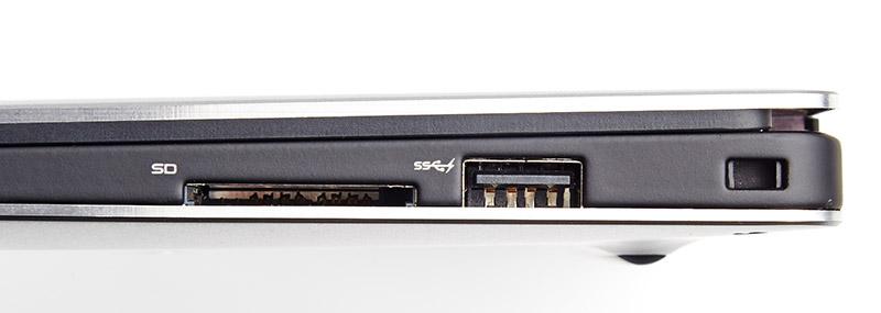 Dell XPS 13 ports