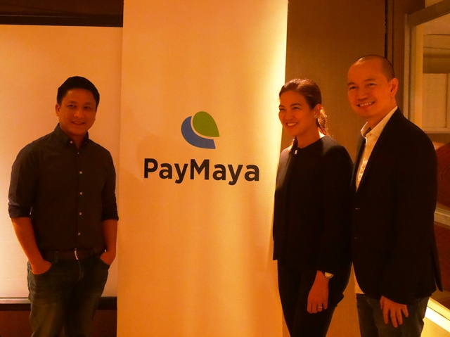 From L to R: Edmon Joson, Product Manager for PayMaya Philippines; Macy Guinto, Program  Manager for PayMaya Philippines; and Lawrence Ferrer, Vice President for PayMaya Philippines.