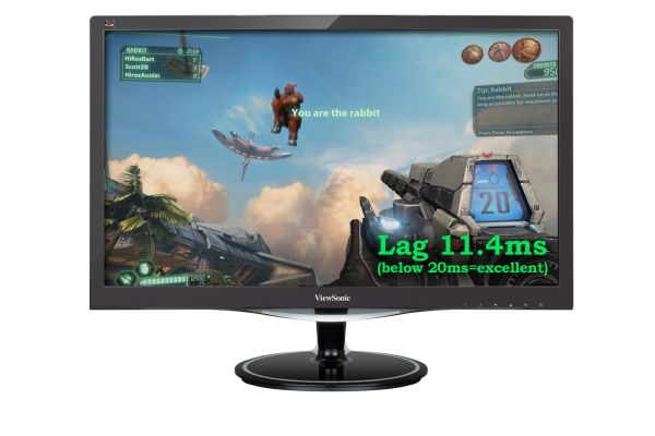 The ViewSonic VX2757 is the largest of the three new monitors that are built for players to have a smoother experience with their games.