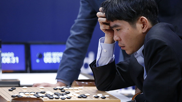 AlphaGo is just one example of AI based on deep neural networks. (Image Source: AP/Lee Jin-man)