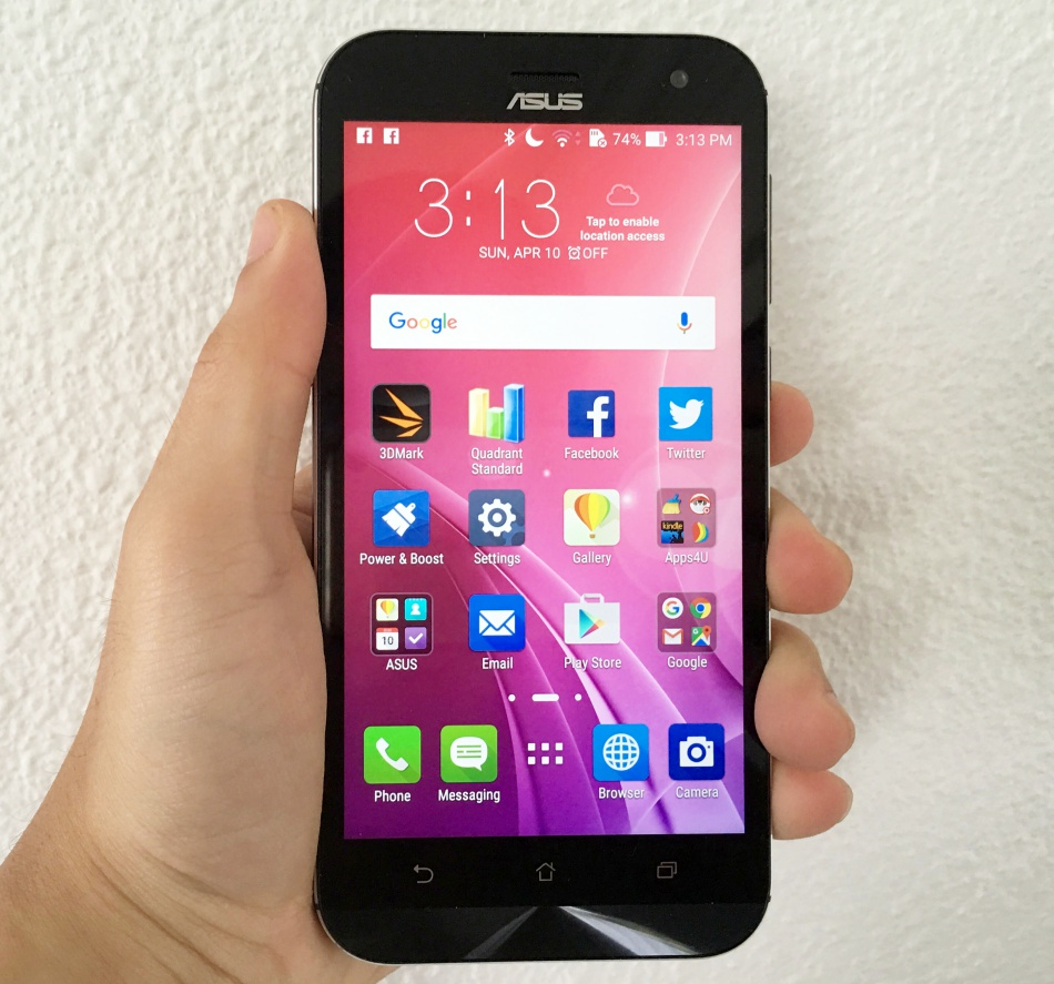 The ASUS ZenFone Zoom is a 5.5-inch smartphone with 3x optical zoom.