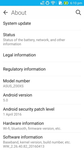 ASUS confirmed in a forum post that the ZenFone Zoom will be updated to Android 6.0 Marshmallow by the end of Q2.