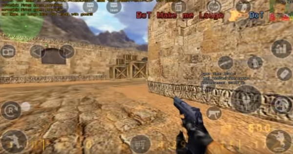 Counter-Strike 1.6 is now available on Android devices. <br> Image source: TweakTown.