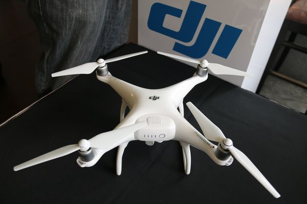Here's a closer look at the DJI Phantom 4.