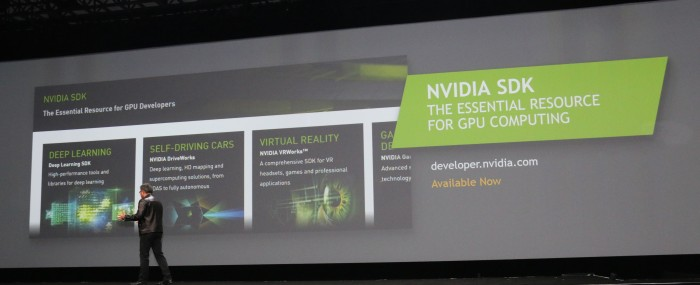 NVIDIA's SDK resources for developers.