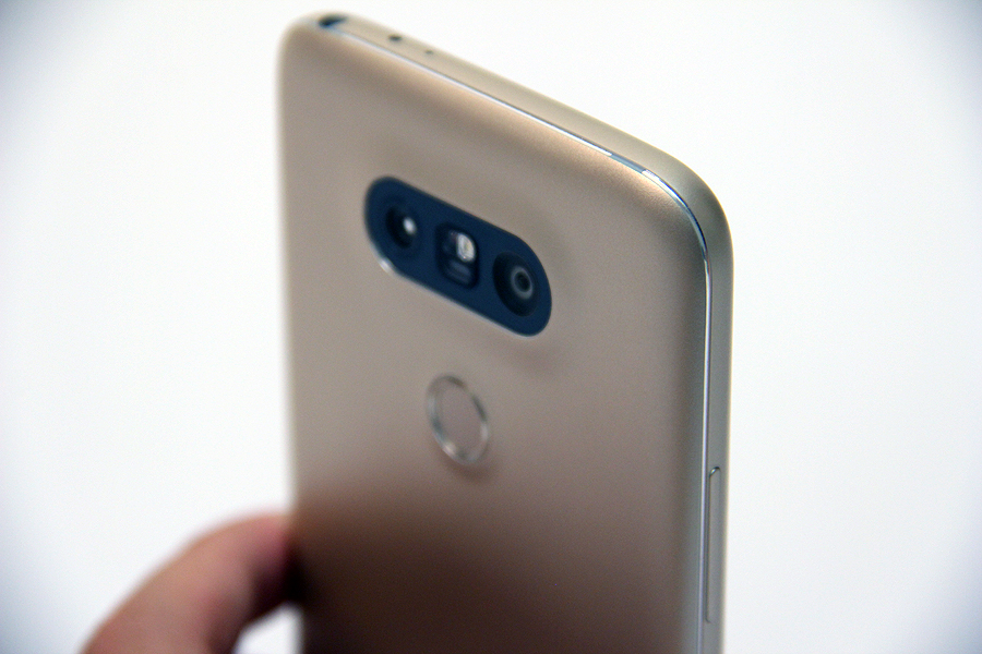 The Shiny Edge cut is quite a nice touch on the LG G5.