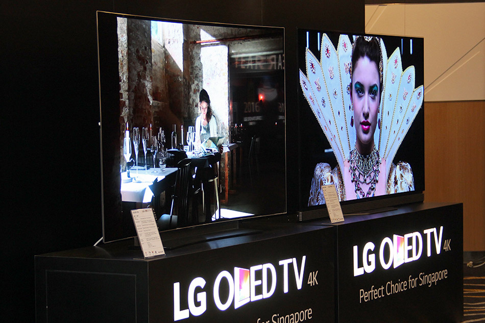 The Lg Signature G6 4k Oled Tv With Dolby Vision Is Destined To Set