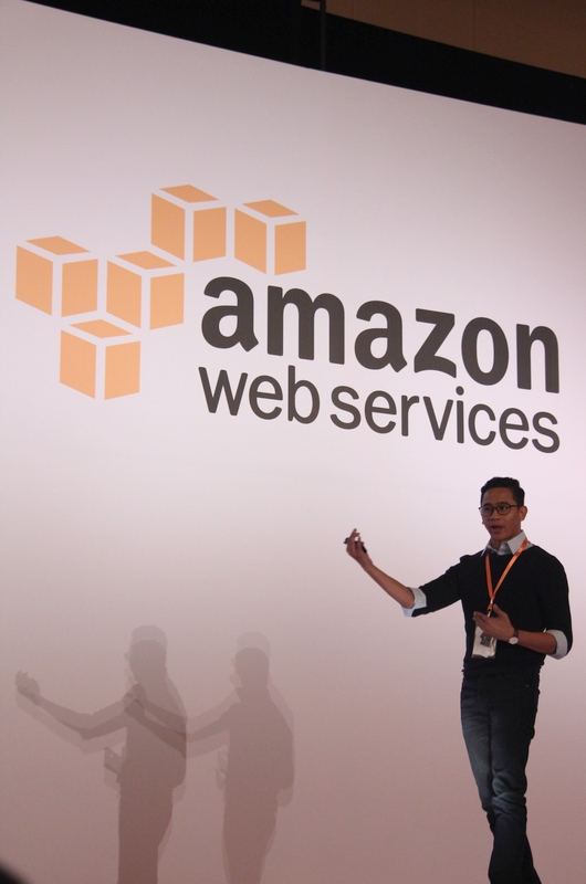 KFit's Chief Technology Officer Arzumy MD was on stage to share how AWS has helped the one-year-old fitness sharing platform grew to encompass 10 cities across eight countries, with approximately two reservations every minute.