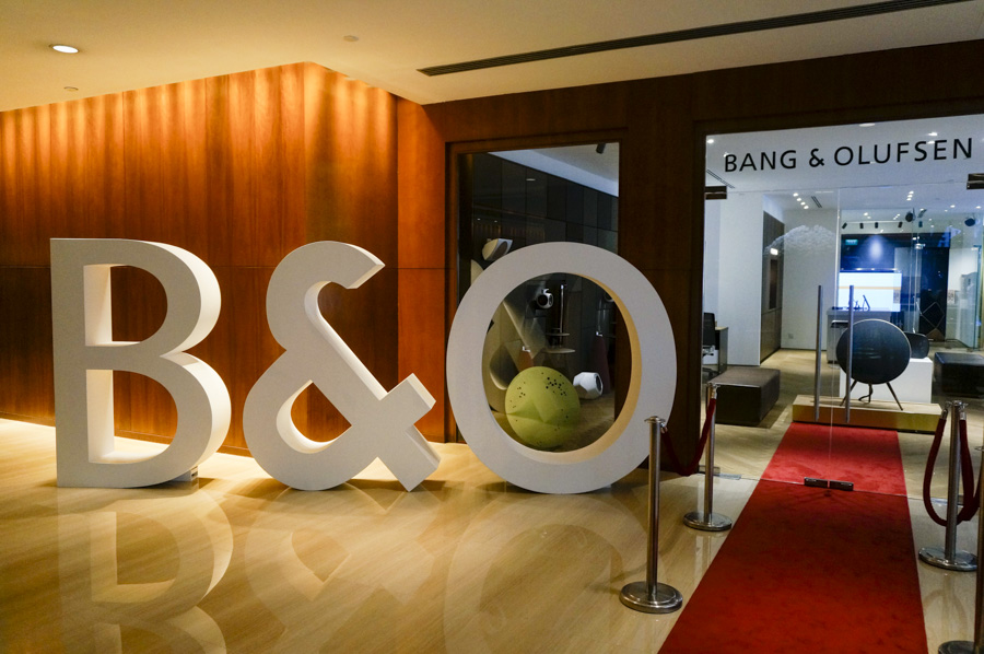 Photos: Bang & Olufsen's refreshed Grand Hyatt showroom - HardwareZone.com. sg