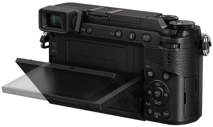 The rear LCD does tilt and touch, so you can easily adjust settings or take captures.