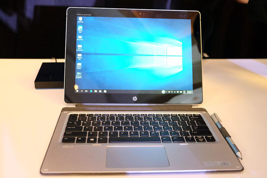 HP Elite x2 display