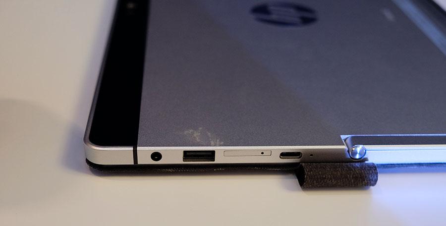 HP Elite x2 ports