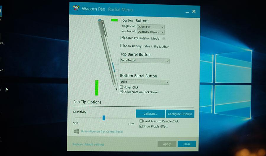 HP Active Pen customization