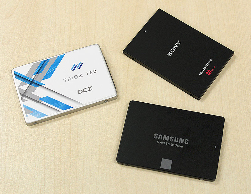 SSDs have never been cheaper and here are three of the latest entry-level SSDs to hit our shores.