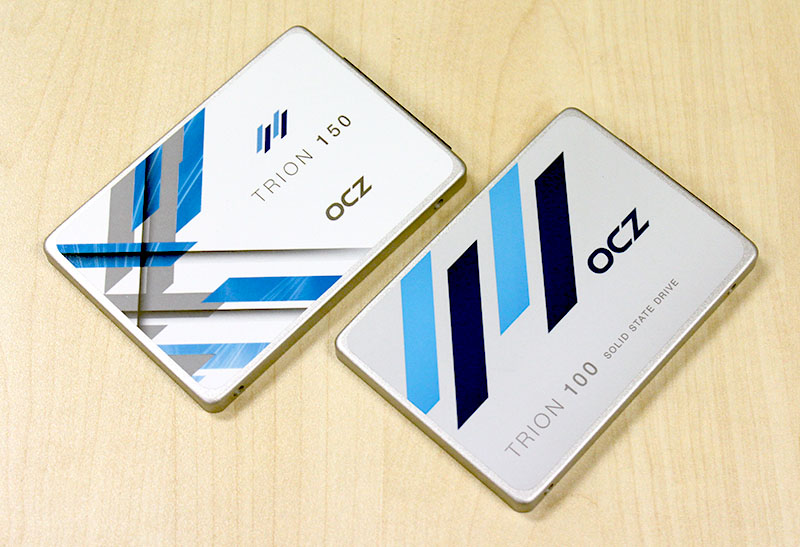 The new OCZ Trion 150 is a minor update of the Trion 100 SSD that we reviewed last year.