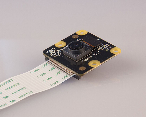 Here's a look at the updated infrared camera module. (Image Source: Raspberry Pi Foundation)