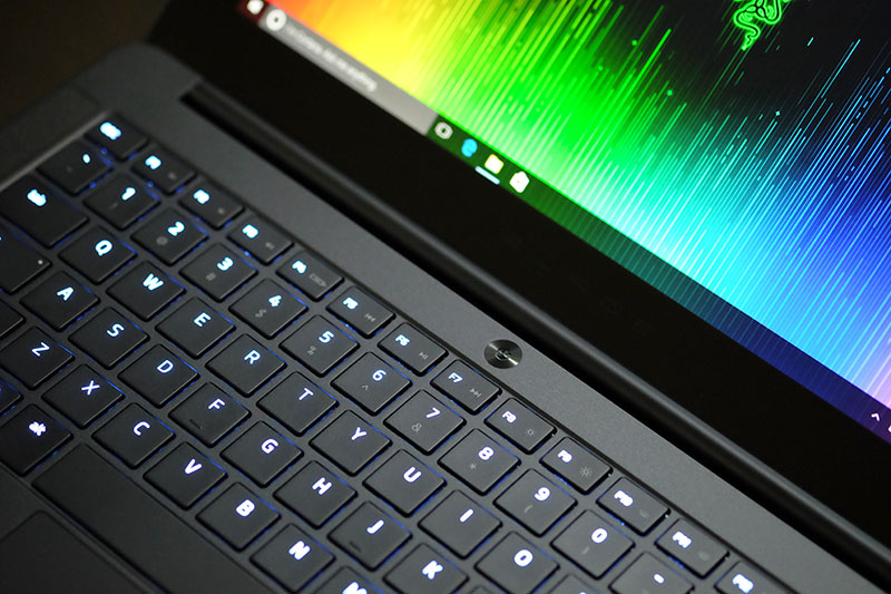 Razer Blade Stealth keyboard