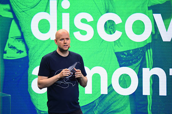 Spotify press conference