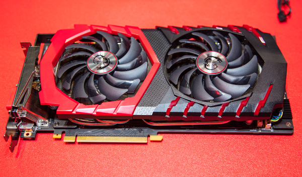 The latest and fastest MSI GeForce GTX 1080 Gaming Z 8G graphics card