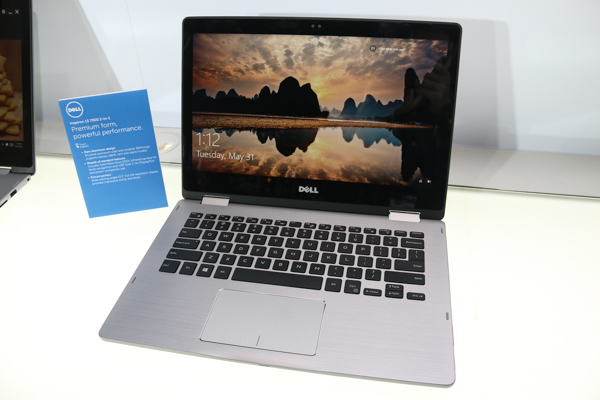 The 13-inch Dell Inspiron 7000 2-in-1 notebook.
