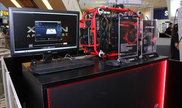 Kingston HyperX will also be present for the duration of PlayTest.