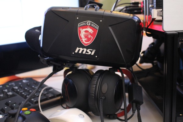 The Oculus Rift DK2 headset was provided to us by MSI Malaysia. Many thanks, MSI.