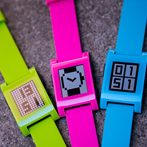 Pebble Neon Smart Watch