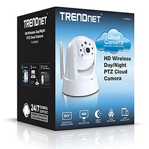 Trendnet TV-IP862IC Wireless Day/Night PTZ Cloud Camera