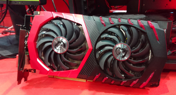 Behold! The MSI Gaming Z GTX 1080 with the all new Twin Frozr VI, in all its glory.