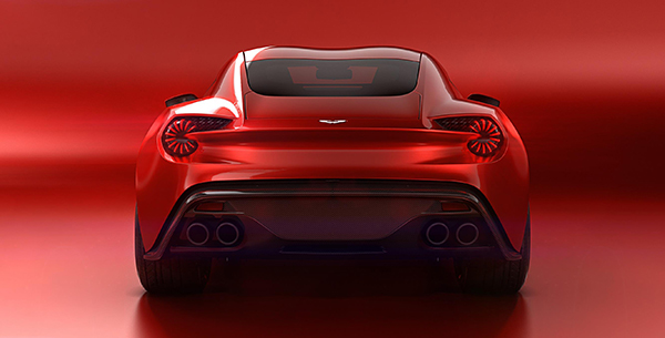 The Aston Martin Vanquish Zagato Concept Could Well Be The Prettiest - Aston martin concept