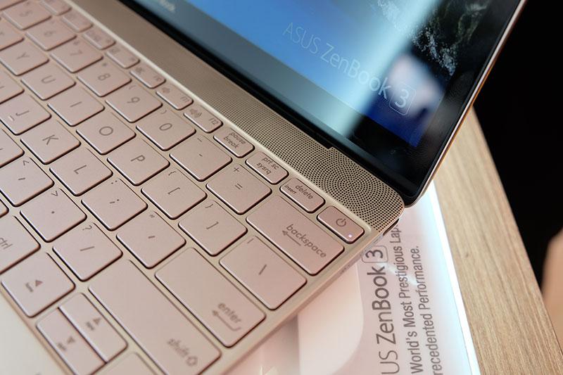 ASUS ZenBook 3 speakers