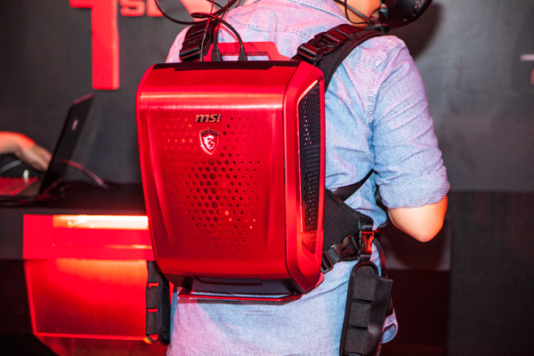 MSI leads the way in VR gaming with the new backpack PC that gives users an unhindered VR experience.