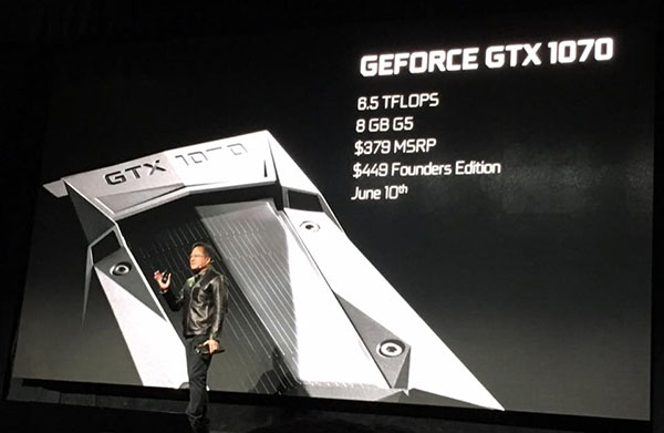 NVIDIA announces new GeForce GTX 1080 and GTX 1070 graphics cards