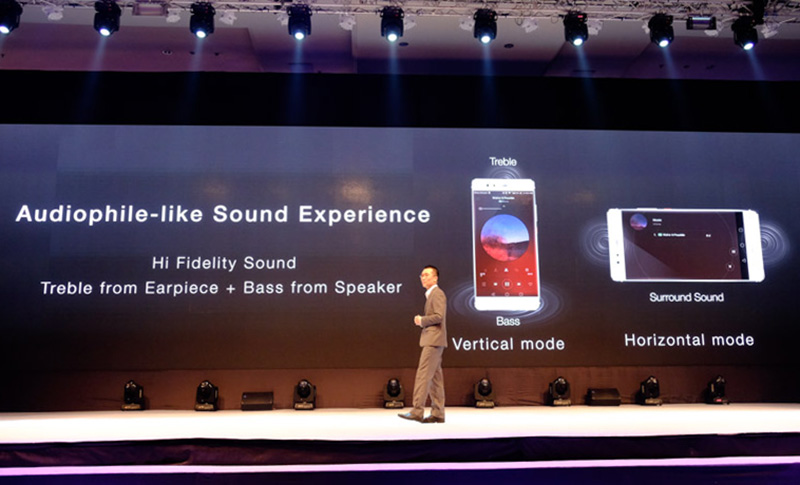 Smart sensors in the P9 Plus will give optimal sound based on the orientation of the phone.