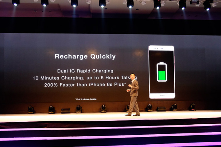 Dual IC Rapid Charging sounds like it will be a god send to those of us who often deplete the batteries in our smartphones.