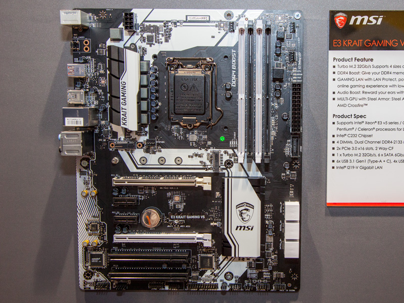 Z170A MPower Gaming Titanium : COMPUTEX 2016: Here are MSI's 10