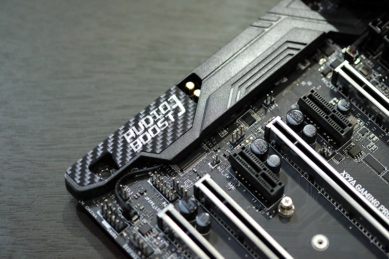 MSI X99A Gaming Pro Carbon Audio Boost 3