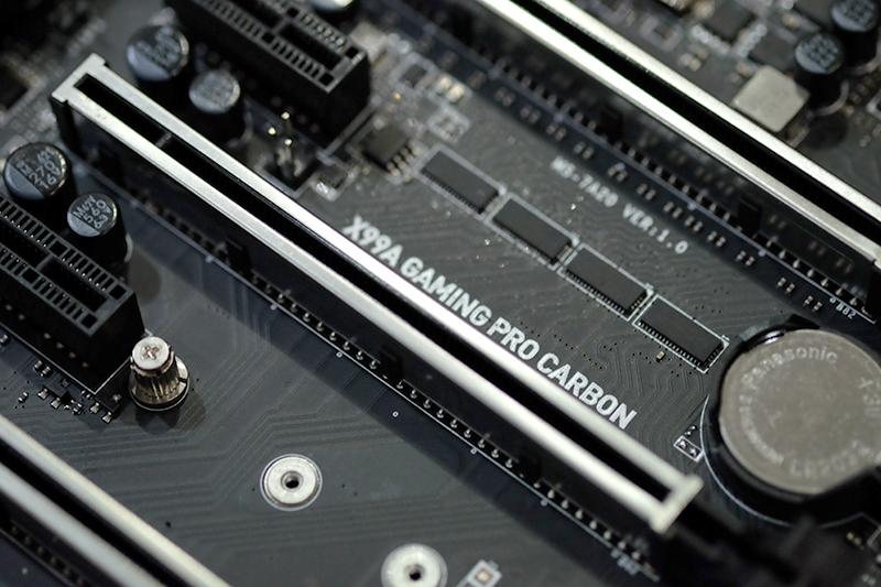 MSI X99A Gaming Pro Carbon PCB