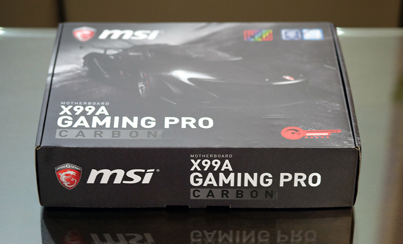 Meet the MSI X99A Gaming Pro Carbon.
