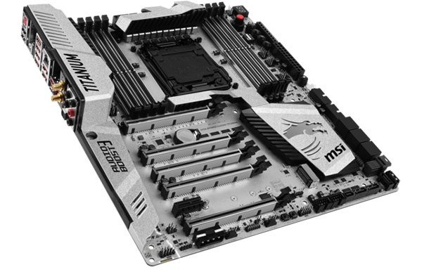 Msi S New Intel X99 And Z170 Titanium Motherboards Were