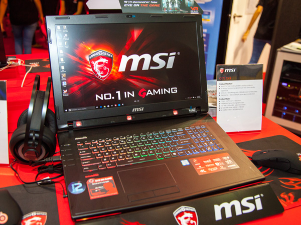 The new MSI GT72 Tobii is a 17.3-inch FHD notebook with 512GB of NVMe M.2 SSD and a 1TB HDD. It will also come with four DIMM slots for up to 64GB of DDR4 memory.