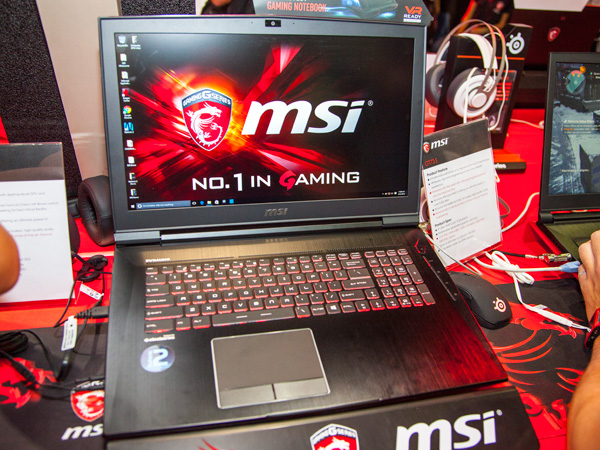 The MSI GT73S is a 17.3-inch notebook with a 120Hz FHD display. Similar to the GT83S, it'll also come with a pair of 512GB NVMe M.2 SSD, 1TB HDD and up to 64GB of memory.