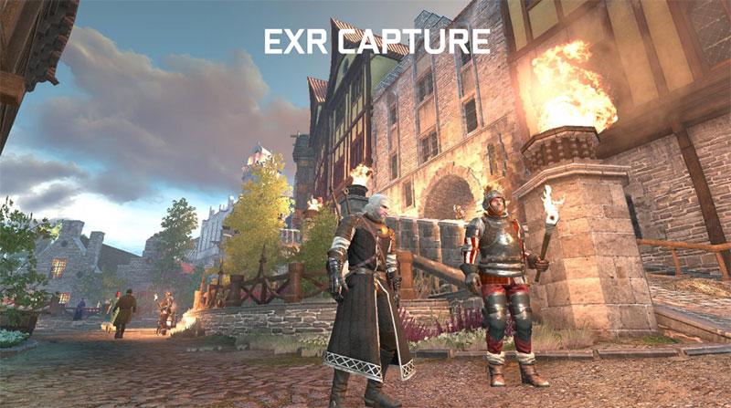 NVIDIA Ansel EXR capture