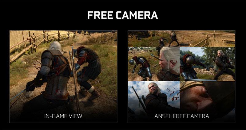 NVIDIA Ansel free camera
